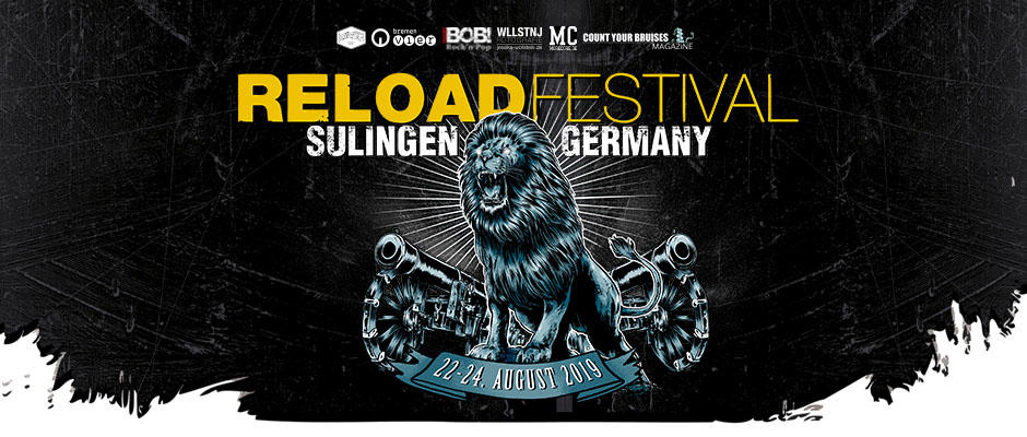 With Sabaton, Bullet For My Valentine, Airbourne, Hatebreed, Agnostic Front, Lordi, Nasty and many more!