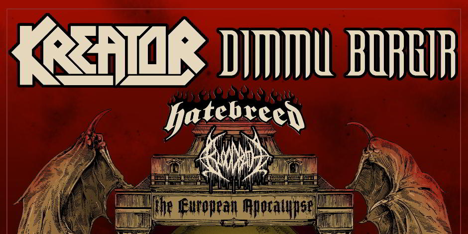 Kreator and Dimmu Borgir