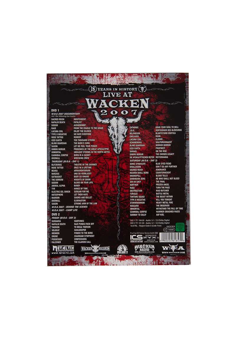 W:O:A - DVD - Live at Wacken 2007 (Doppel DVD) -