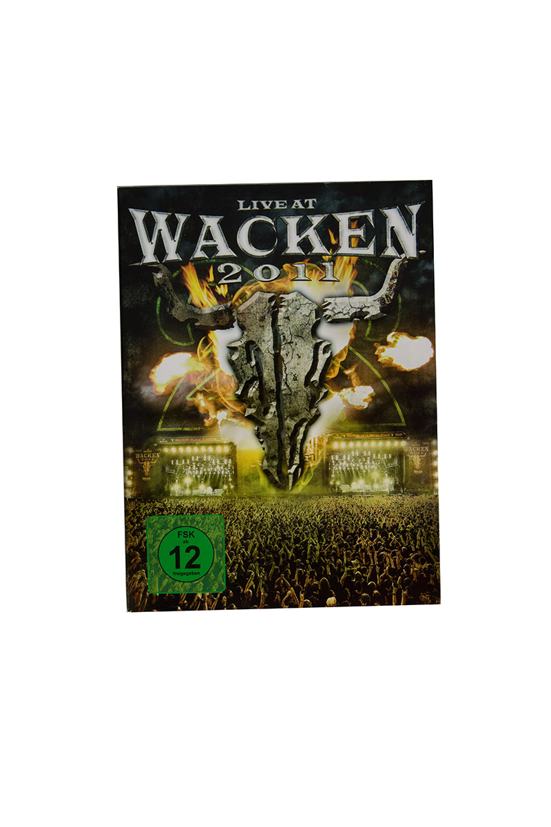 W:O:A - DVD - Live at Wacken 2011 (Triple DVD) -