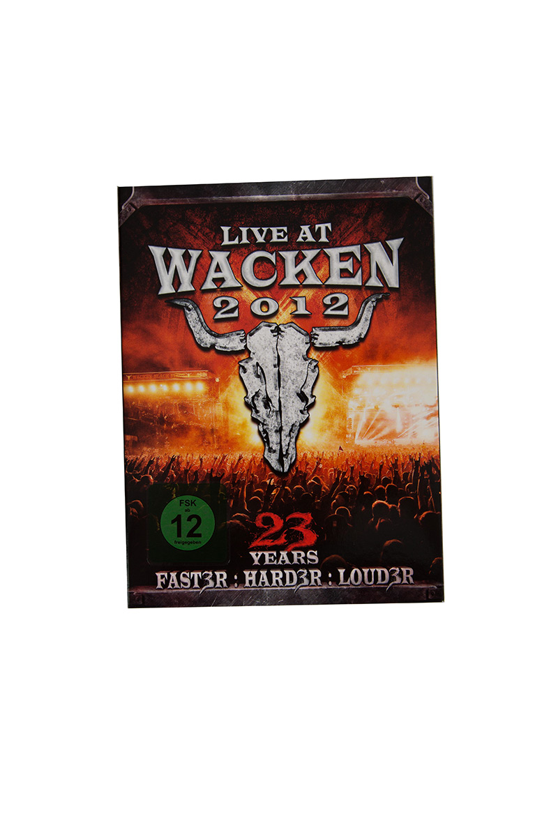 W:O:A - DVD - Live at Wacken 2012 (Triple DVD) -