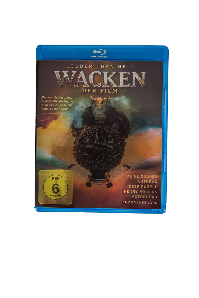 W:O:A - BluRay - Wacken der Film 3D -