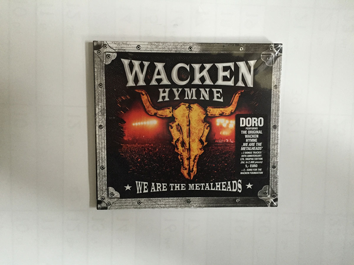 W:O:A - CD - Wacken Hymne 2009 - We are the Metalheads -
