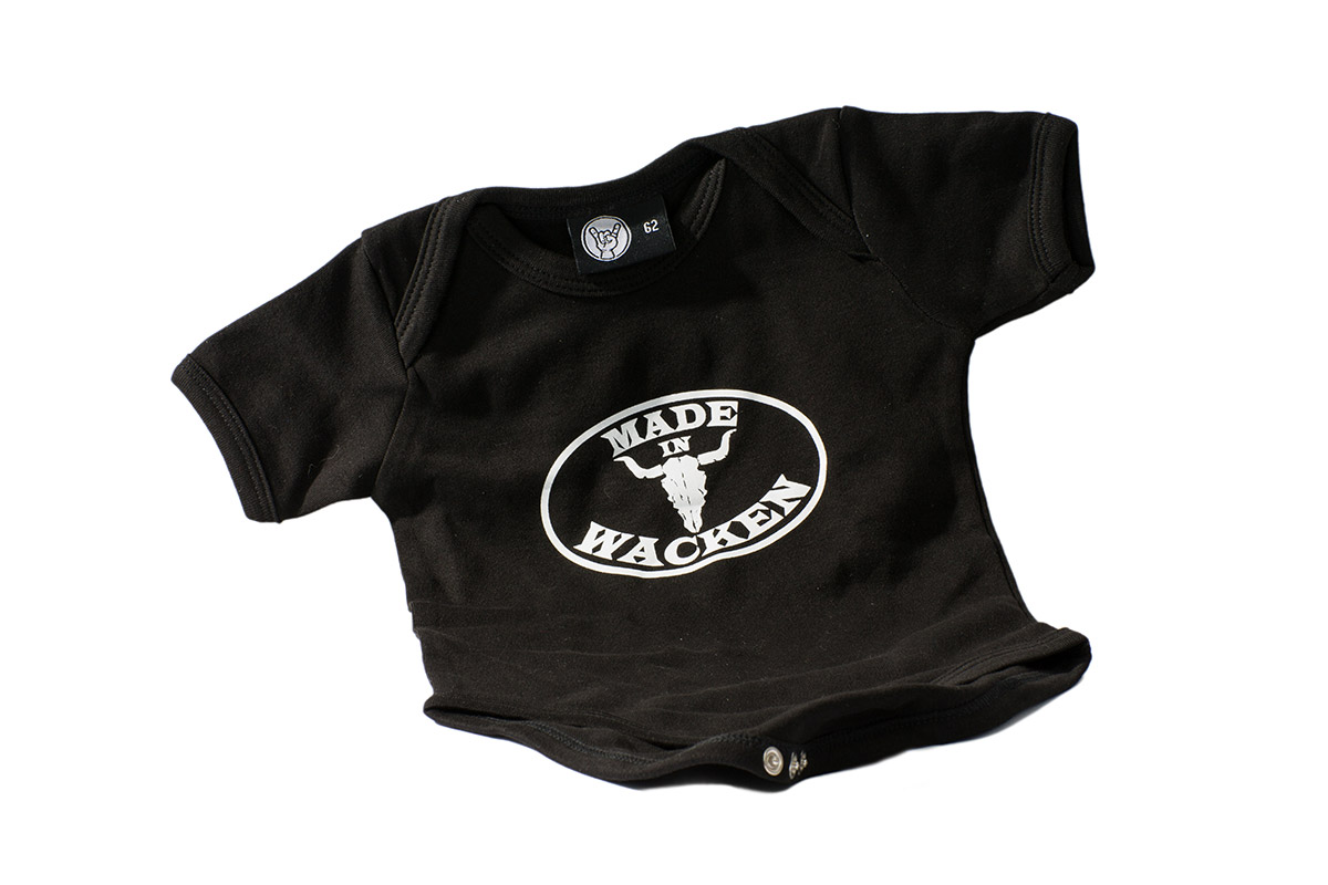 W:O:A - Baby Body - Made in Wacken - schwarz -