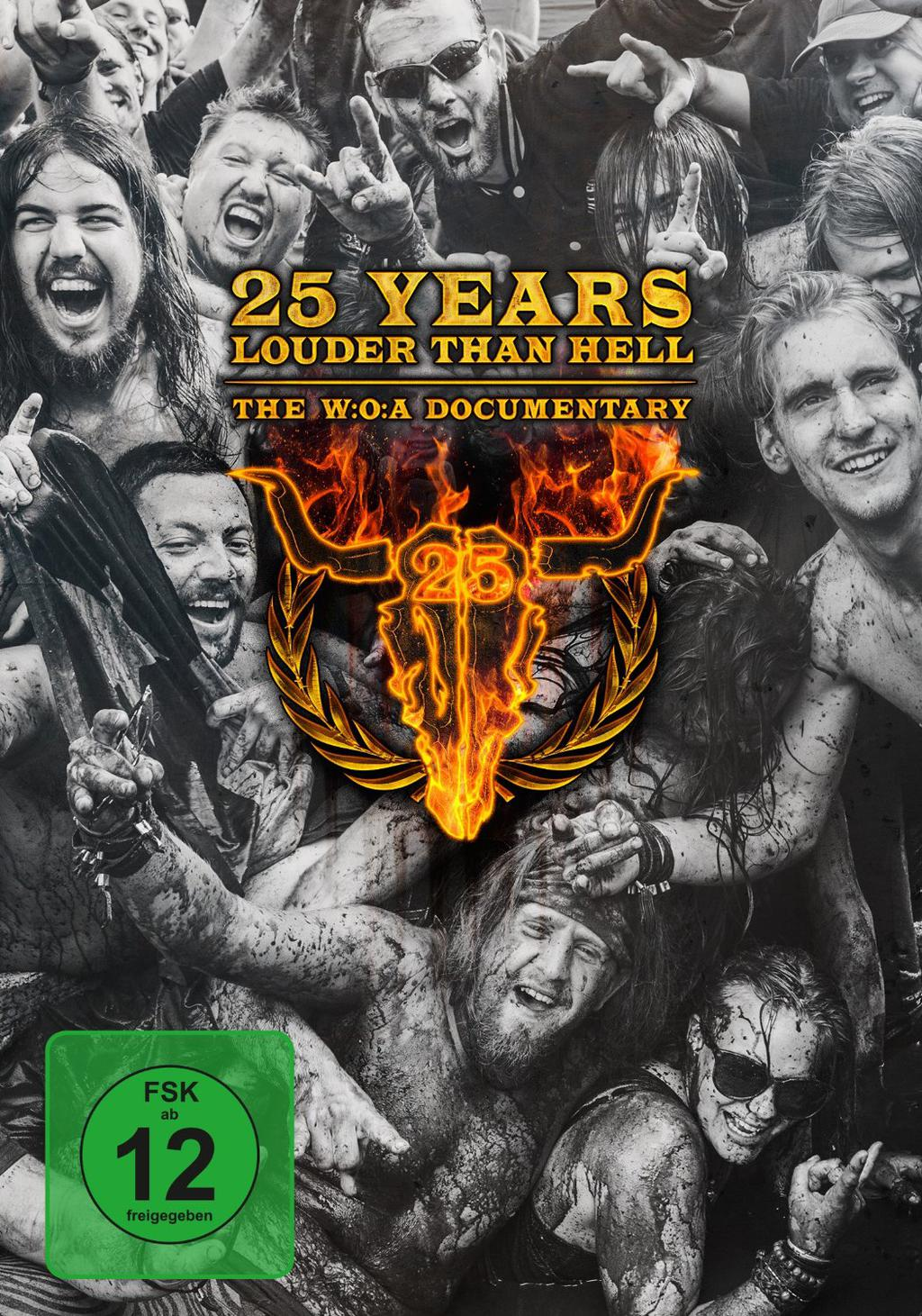 W:O:A - The W:O:A Documentary - 25 Years Louder Than Hell DVD -