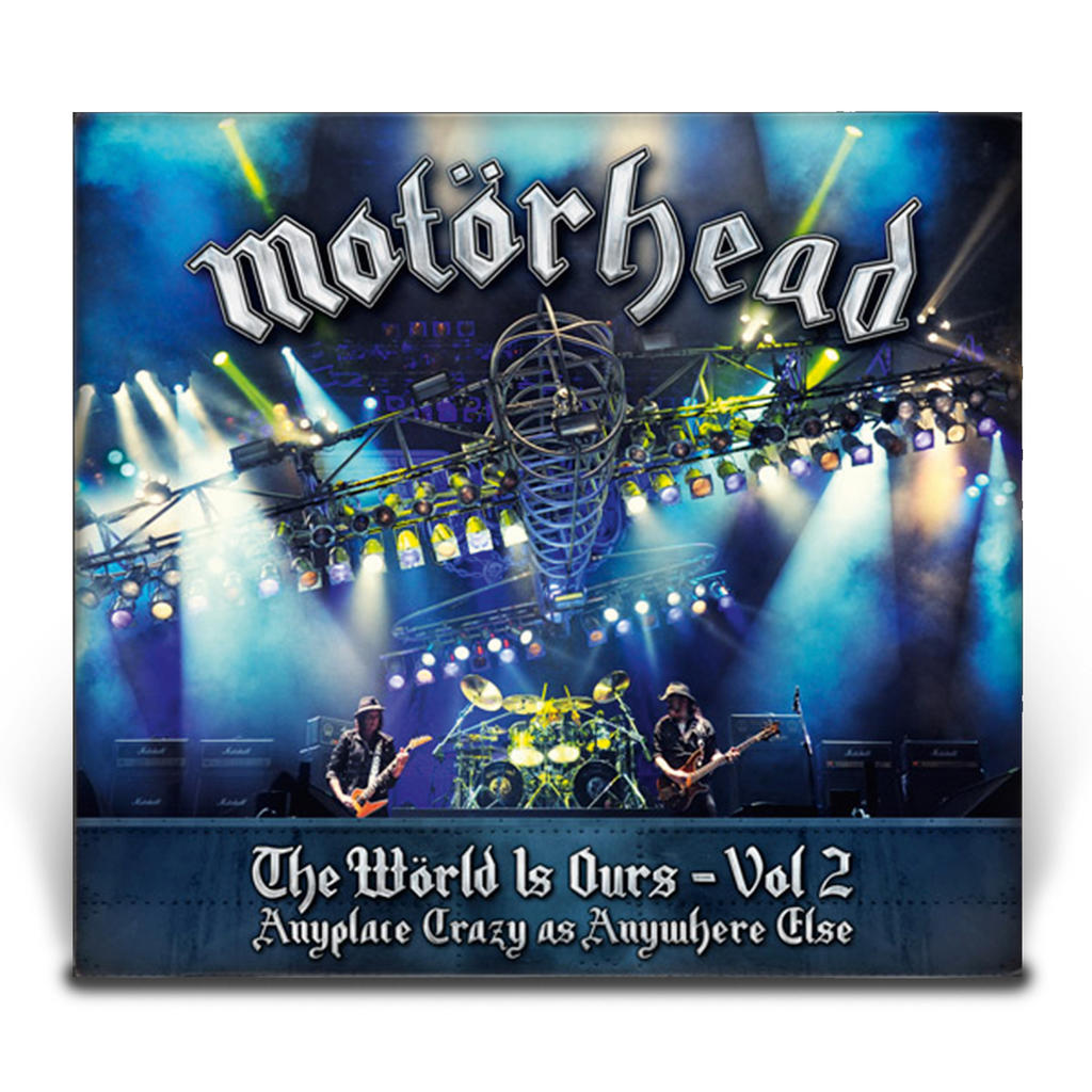 Motörhead - The World Is Ours - Vol. 2 - Anyplace Crazy As Anywhere Else Blu-Ray -