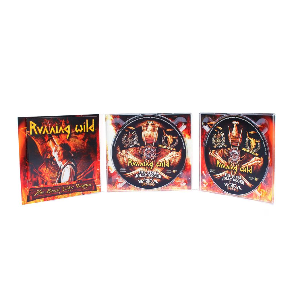 Running Wild - CD - The Final Jolly Roger -