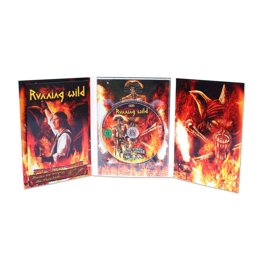 Running Wild - DVD- The Final Jolly Roger -