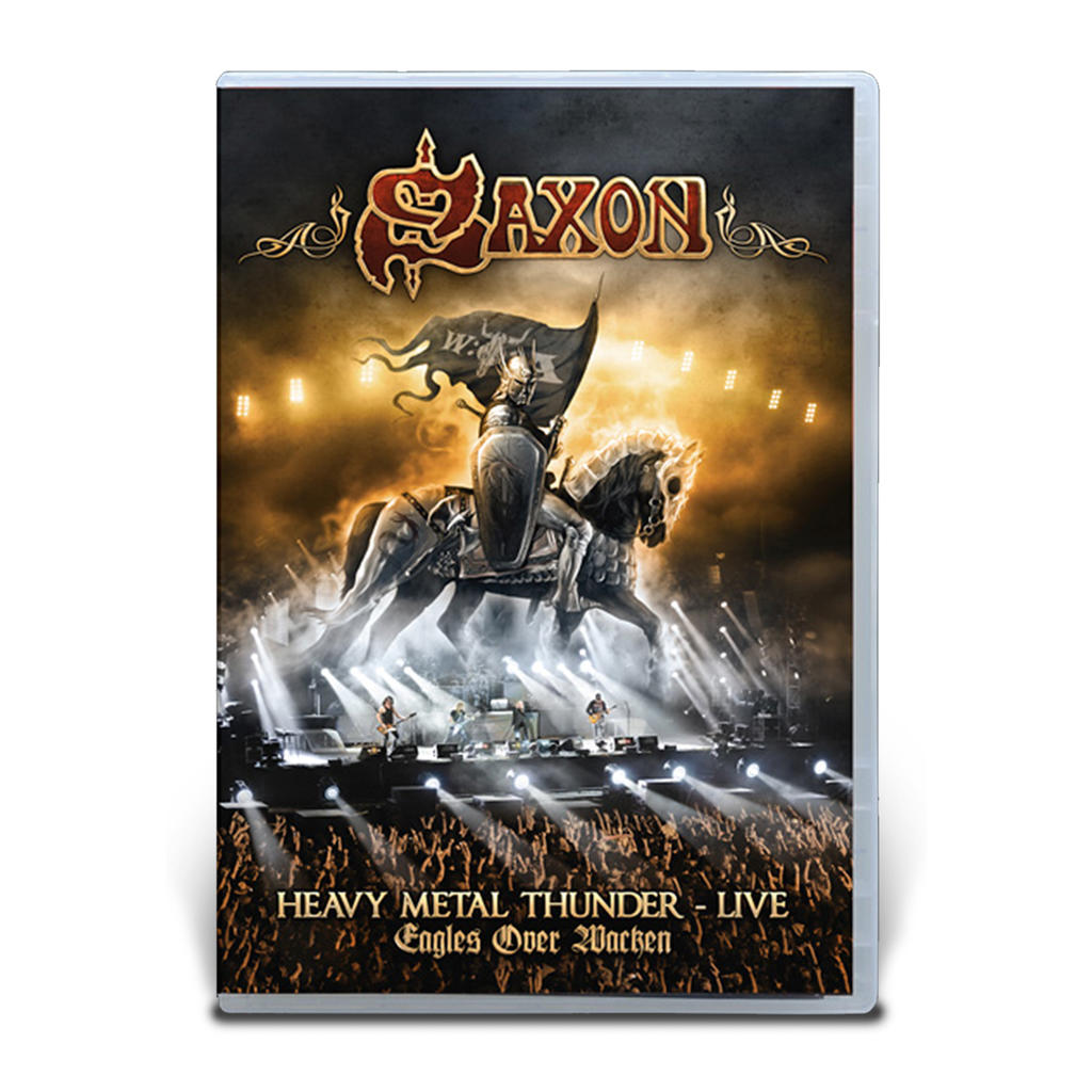 Saxon - Heavy Metal Thunder - Live - Eagles over Wacken DVD -