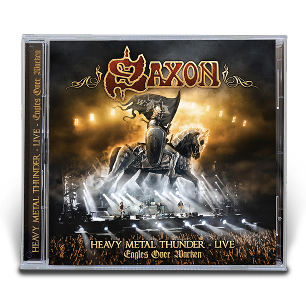 Saxon - Heavy Metal Thunder - Live - Eagles over Wacken DIGIPACK -