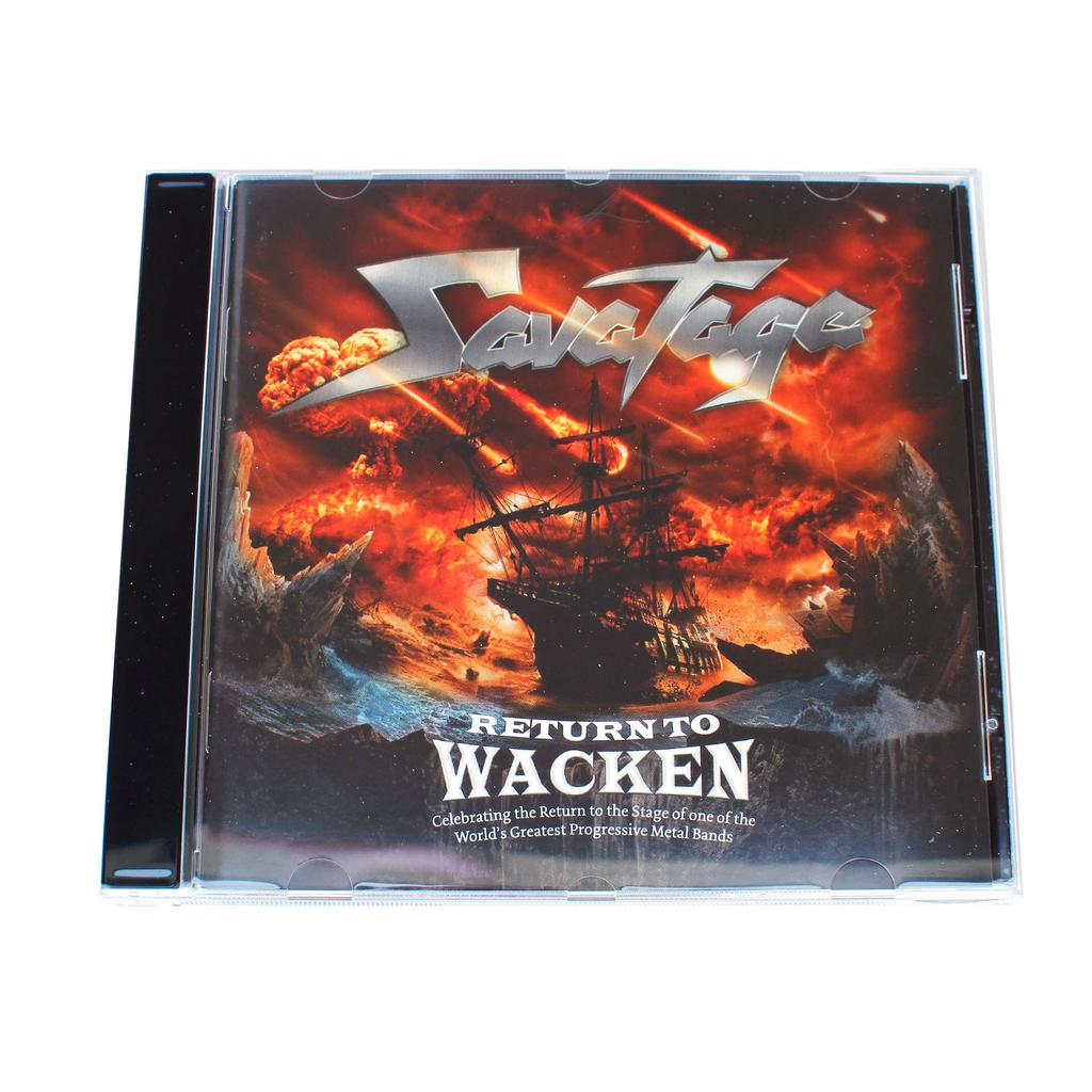 W:O:A - CD - Savatage - Return to Wacken -