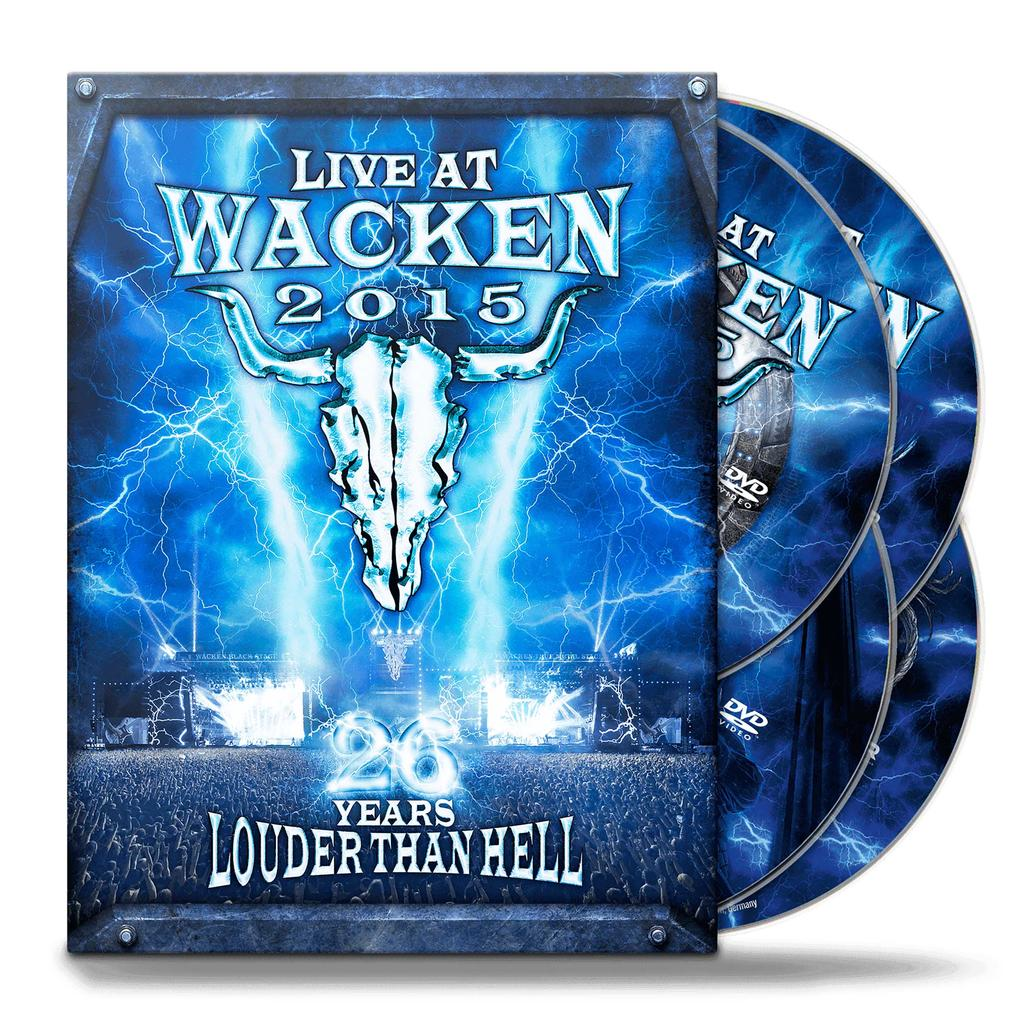 W:O:A - DVD - Live at Wacken 2015 -