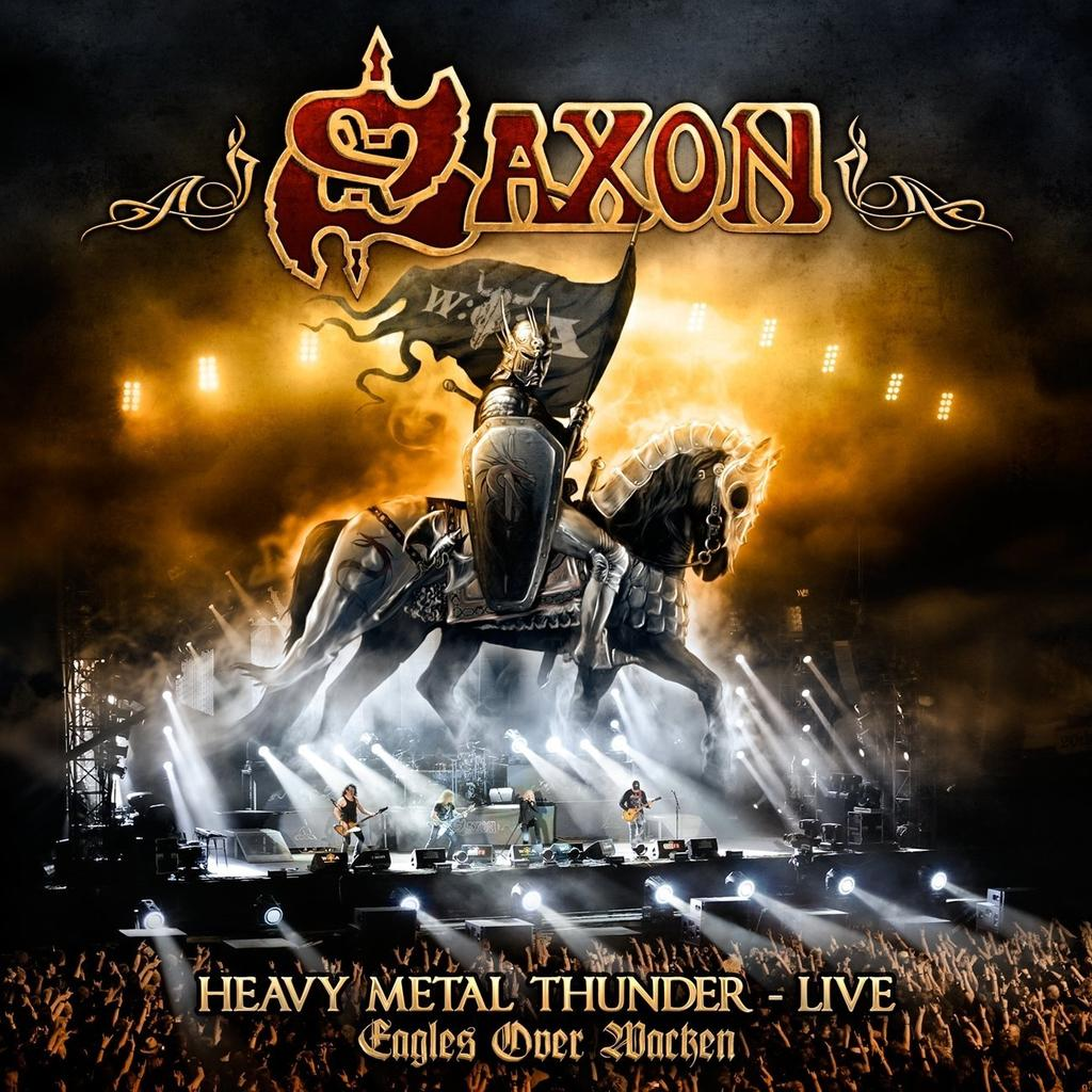 Saxon - Heavy Metal Thunder - Live - Eagles over Wacken CD Jewel Case -
