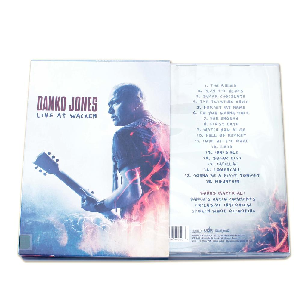 Danko Jones - Live At Wacken (DVD) -