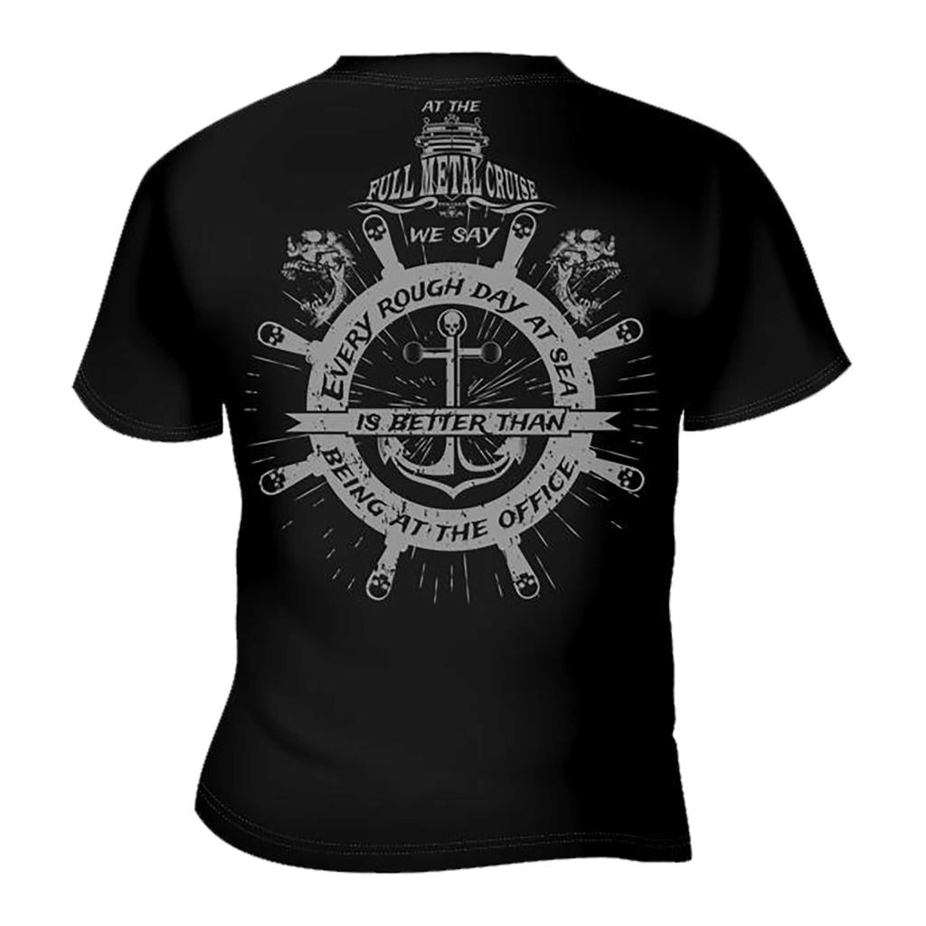 FMC - T-Shirt - Rough Day at the Sea -