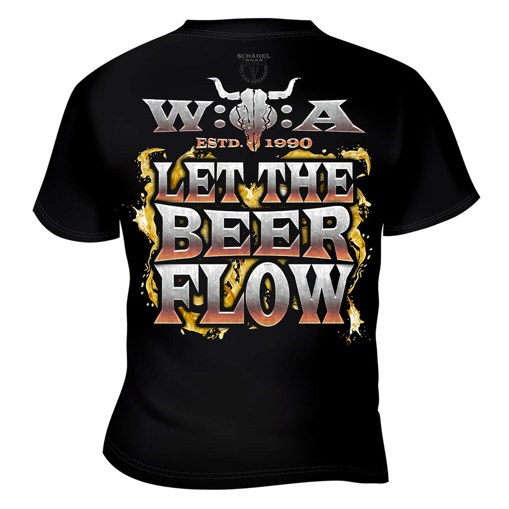 W:O:A - T-Shirt - Beer Pipeline -
