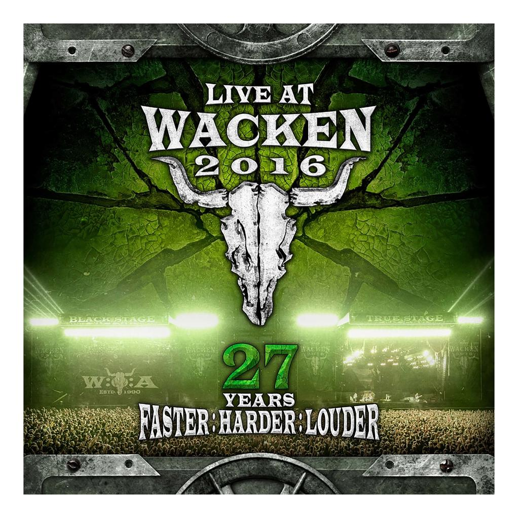 W:O:A - DVD - Live at Wacken 2016 -