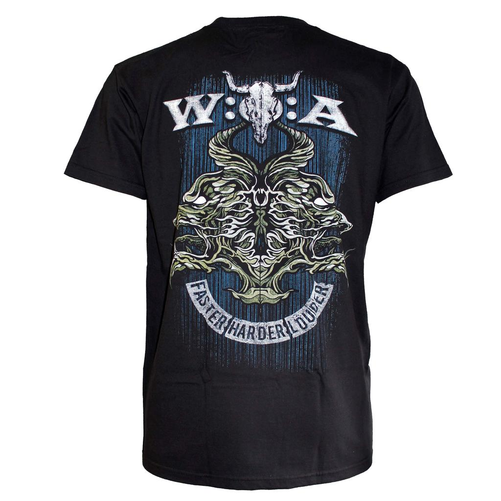 W:O:A - T-Shirt - Louder Than Hell 2018 -