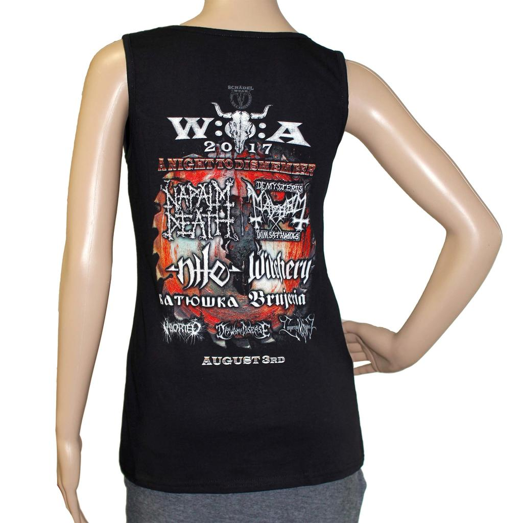 W:O:A - TankTop - Night To Dismember 2017 -