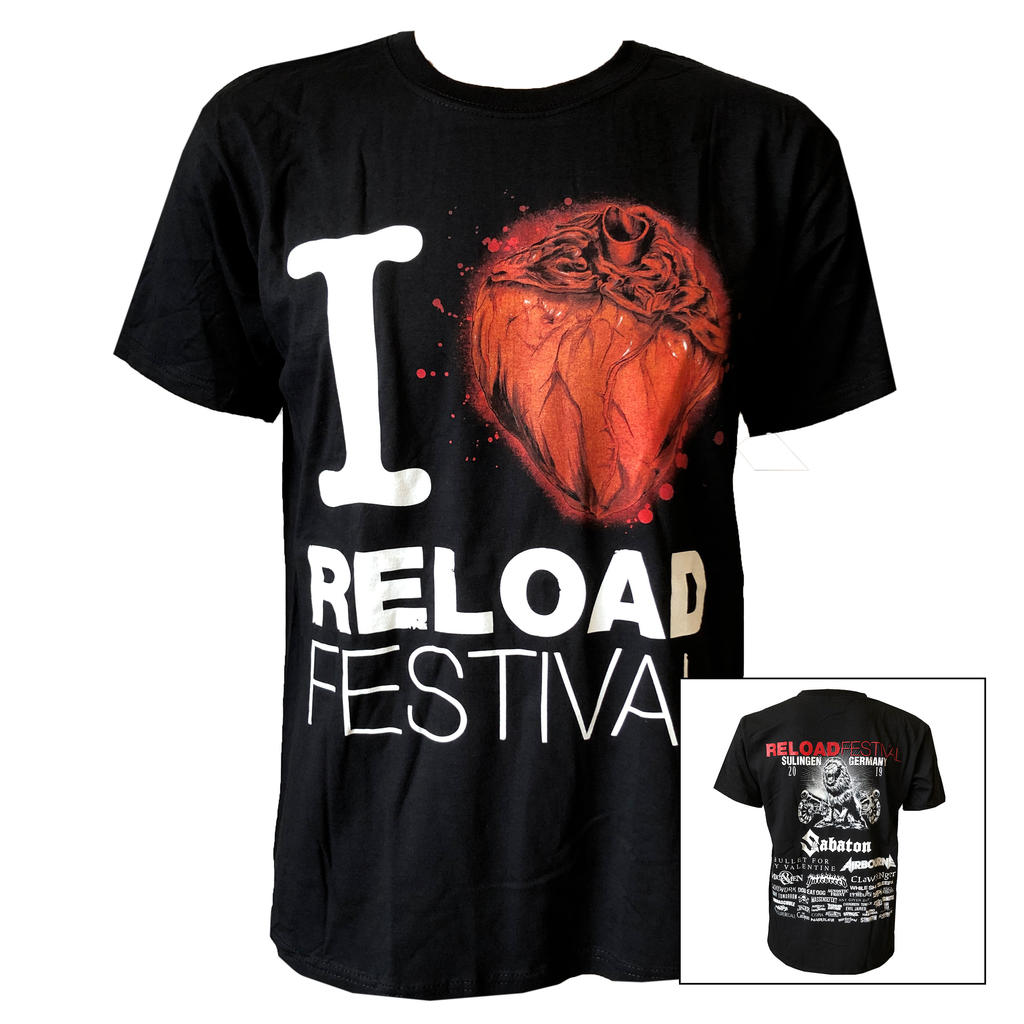 Reload - T-Shirt - I Love Reload 2019 -
