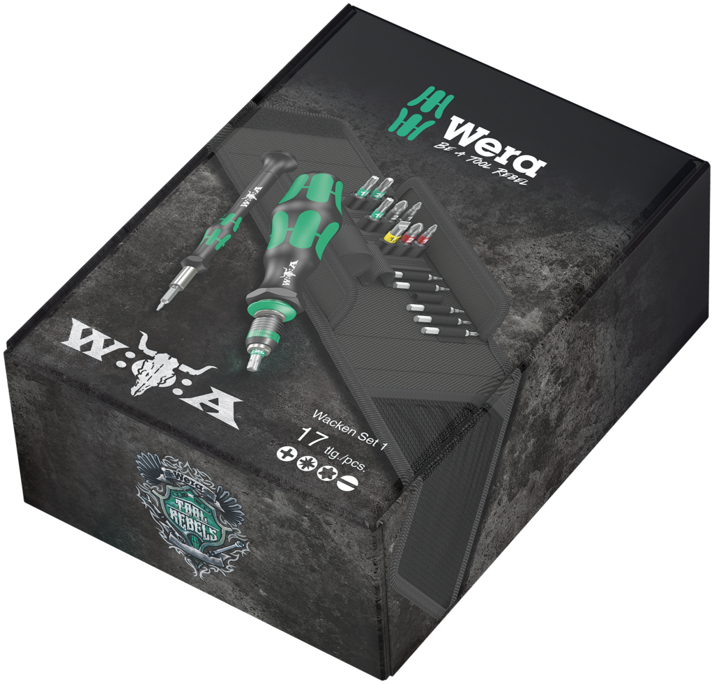 W:O:A - Toolkit - Wera x Wacken -