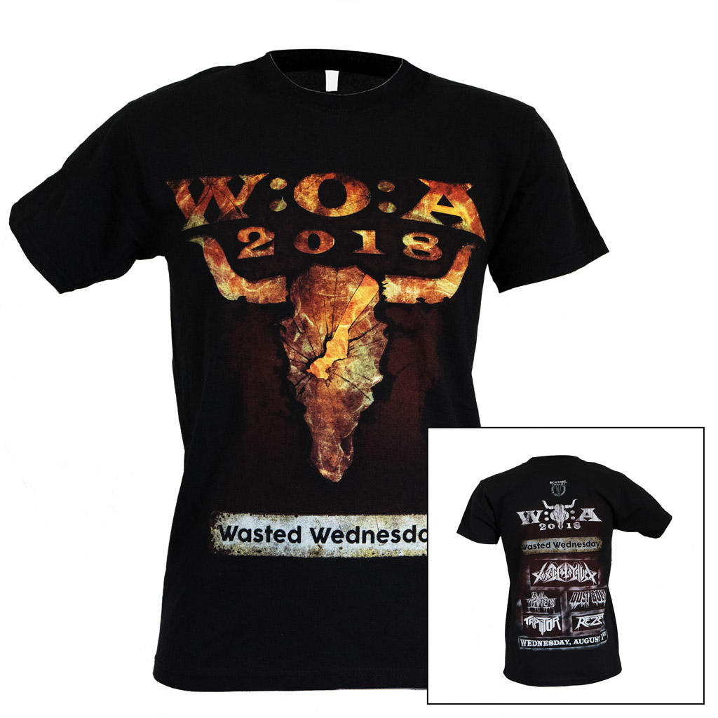 W:O:A - T-Shirt - Wasted Wednesday 2018 -
