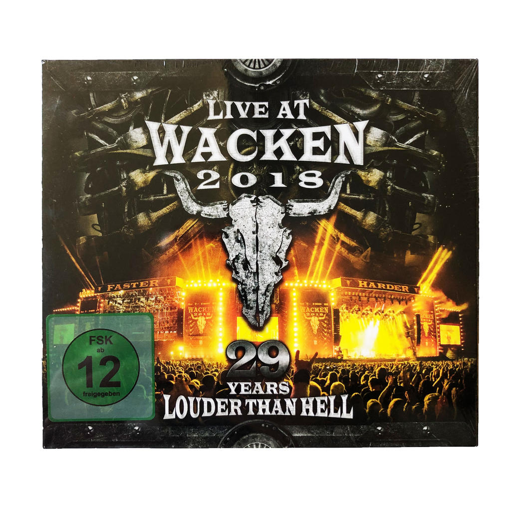 W:O:A - DVD - Live at Wacken 2018 -