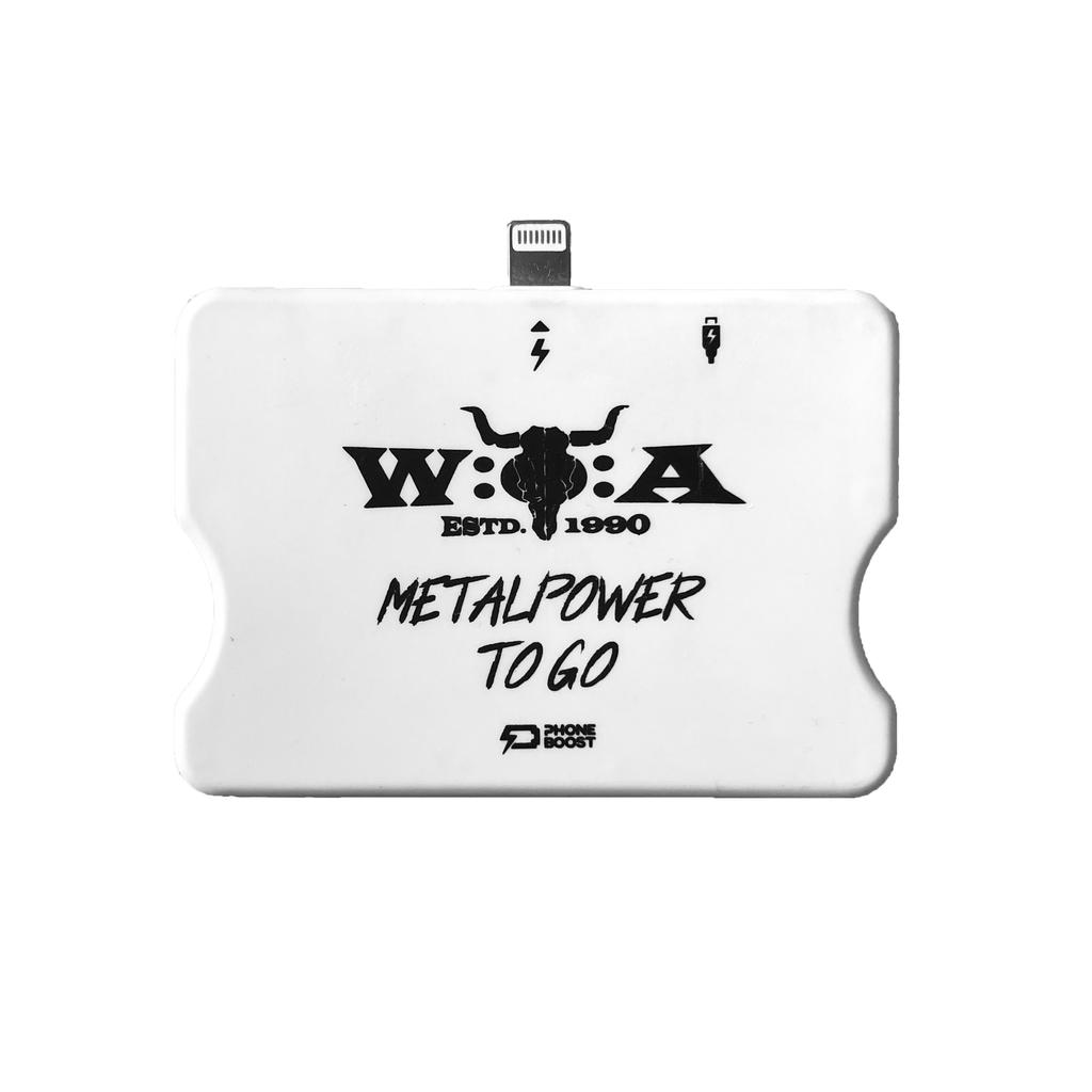 W:O:A - Powerbank - iPhone -