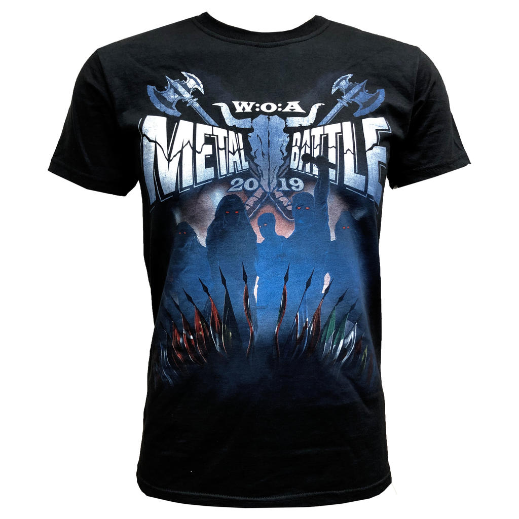 W:O:A - T-Shirt - Metal Battle 2019 -