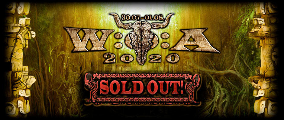 W:O:A 2020 is sold out - THANX FOR YOUR SUPPORT!