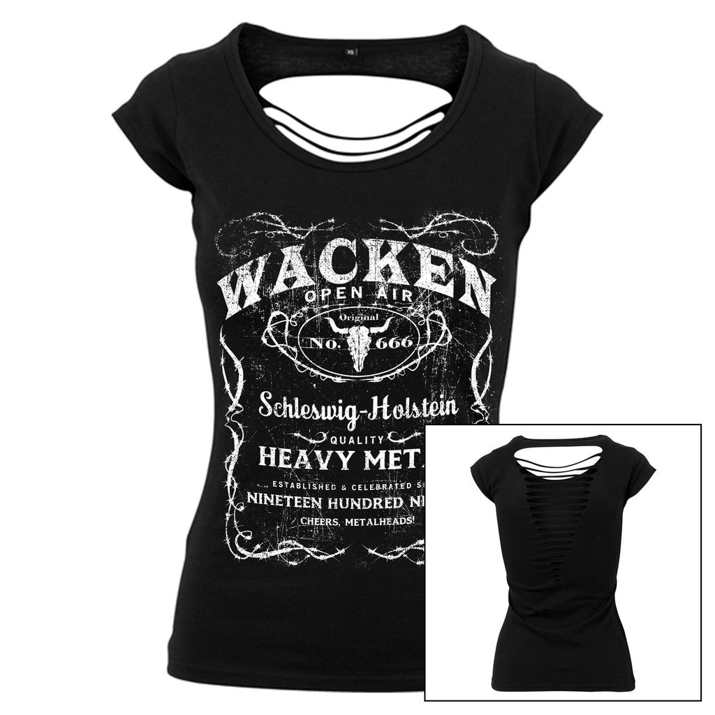 W:O:A - Cut Back Girlie Shirt -No. 666 -