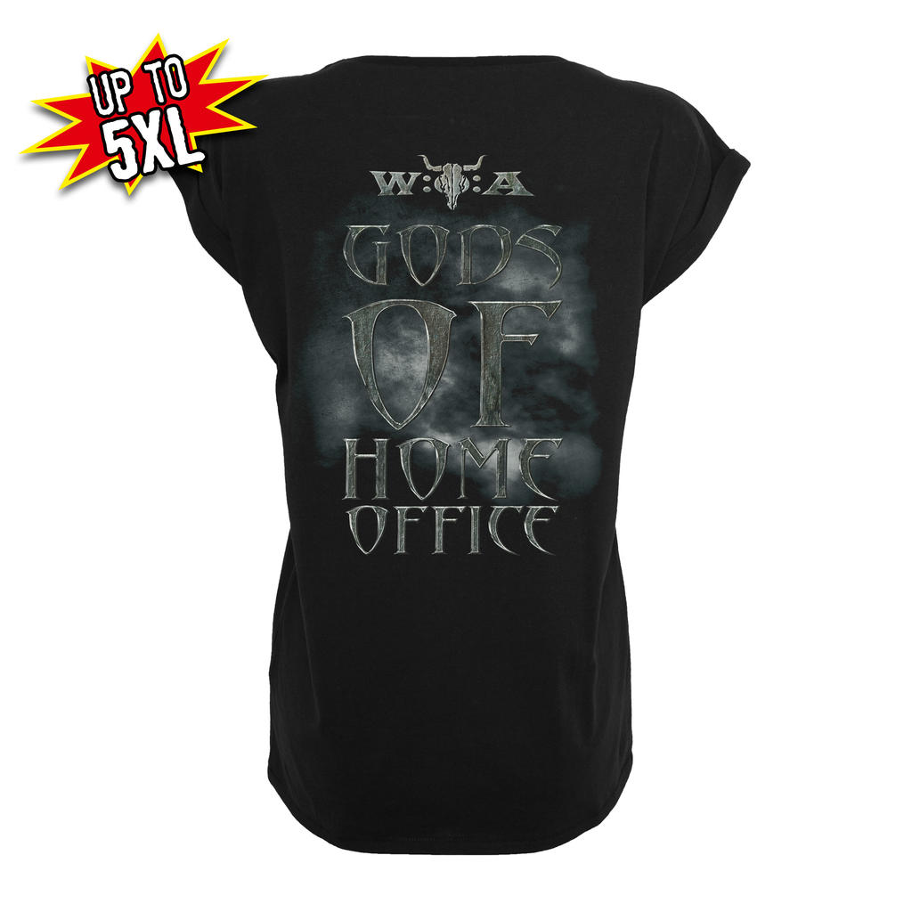 W:O:A - Girlie T-Shirt - Gods of Home Office -