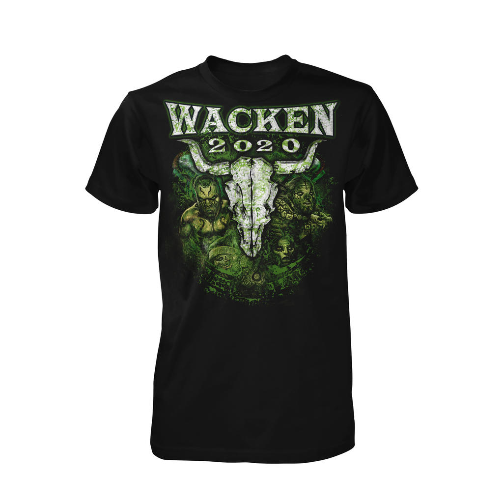 W:O:A - T-Shirt - Green Hell -