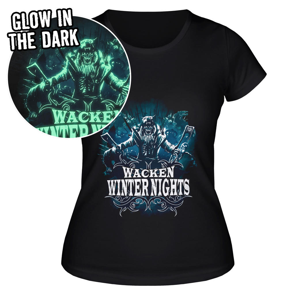 WWN - Girlie T-Shirt - Lost Souls (Glow in the Dark) -