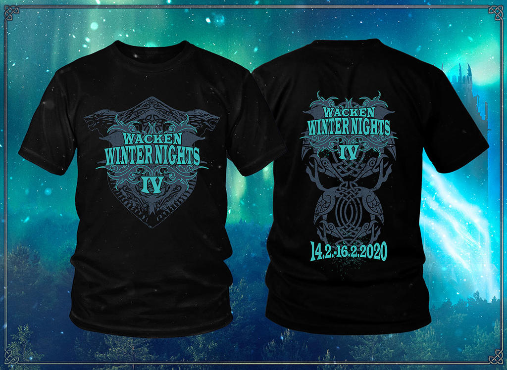 Wacken Winter Nights 2020 - Bundle T-Shirt 2020 -