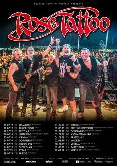 Rose Tattoo European Tour 2019 Tickets Www Metaltix Com