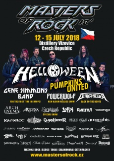 MASTERS OF ROCK 2018  | www.metaltix.com