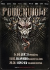 POWERWOLF • 12.11.2019, 19:00 • Köln
