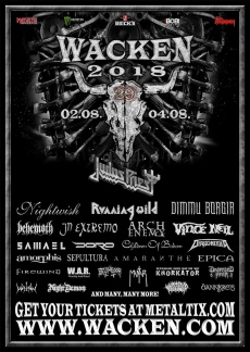 WACKEN OPEN AIR 2018 | www.metaltix.com