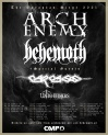 ARCH ENEMY & BEHEMOTH • 30.10.2021, 18:10 • Düsseldorf