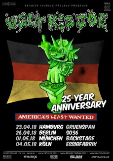 UGLY KID JOE  | www.metaltix.com
