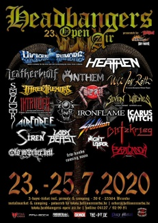 HEADBANGERS OPEN AIR 2020