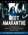 AMARANTHE - VIP Upgrade • 19.04.2021 • Madrid - ESP