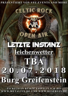 CELTIC ROCK OPEN AIR 2018  | www.metaltix.com