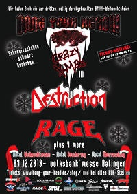 BANG YOUR HEAD!!! CRAZY X-MAS III 2019