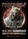 POWERWOLF - OPEN AIR • 10.07.2021, 18:00 • Saarbrücken