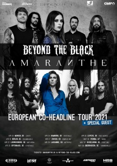 BEYOND THE BLACK & AMARANTHE | www.metaltix.com
