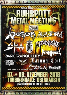 RUHRPOTT METAL MEETING 2018  | www.metaltix.com