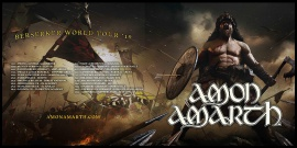 Amon Amarth – Berserker Tour World Tour '19!