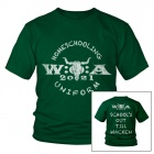 W:O:A - Kids T-Shirt - Home Schooling